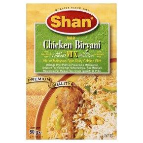 Shan mix malay chicken biryani