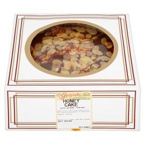 Grodzinski honey & almond cake topping