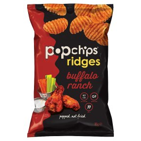 Popchips Ridges Buffalo Ranch