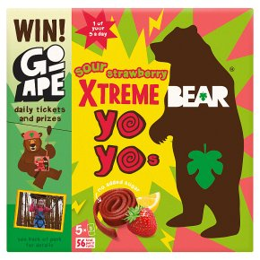 Bear Super Sour YoYos Strawberry & Apple