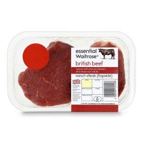 essential Waitrose ranch steak (topside)