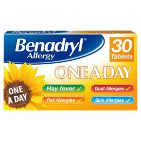 Benadryl One Day Tablets