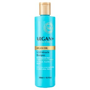 Argan oil 5-oil miracle shampoo