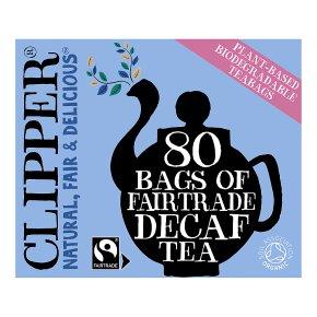 Clipper Fairtrade Decaf Tea Bags