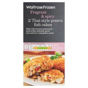 Waitrose Frozen 2 Thai prawn fish cakes
