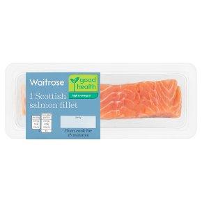 Waitrose boneless Scottish salmon fillet