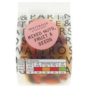 Waitrose Mixed Nuts, Fruit & Seeds