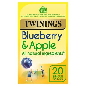 Twinings blueberry & apple 20 tea bags