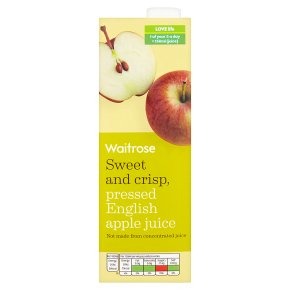 Waitrose Pressed English Apple Juice