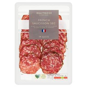 Waitrose Saucisson Sec Herbs de Provence16 slices