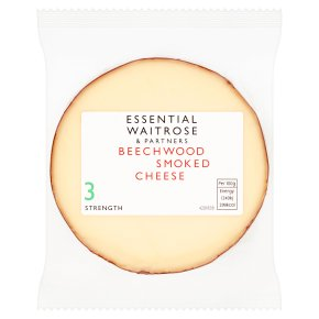 essential Waitrose Bavarian smoked cheese, strength 3