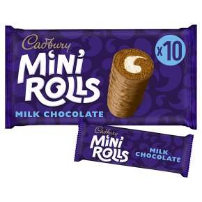 Cadbury Mini Rolls Milk Chocolate