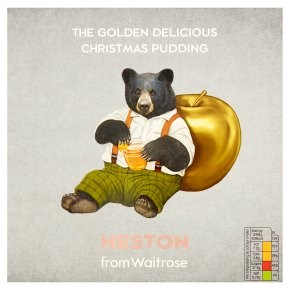 Waitrose HES Golden Christmas Pudding