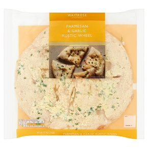 Waitrose Parmesan & Garlic Rustic Wheel