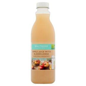 Waitrose Pressed Apple Juice with Elderflower
