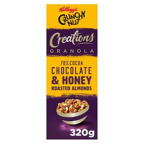 Crunchy Nut Creations Cocoa & Honey Roasted Almonds Granola