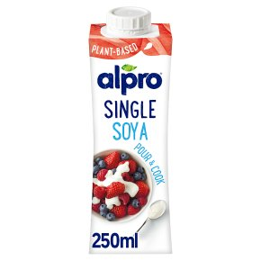 Alpro chilled alternative to cream