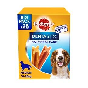 PEDIGREE Dentastix Daily Dental Chews Medium Dog 28 Sticks