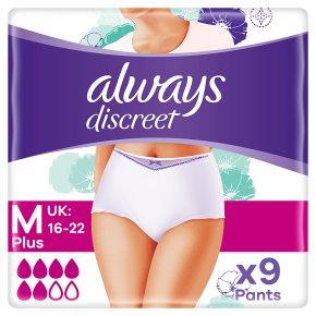 Always Discreet Meduim Plus Pants