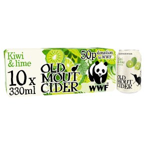 Old Mout Cider Kiwi & Lime New Zealand