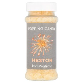 Heston from Waitrose popping candy