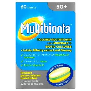 Seven Seas Multibionta 50+ tablets
