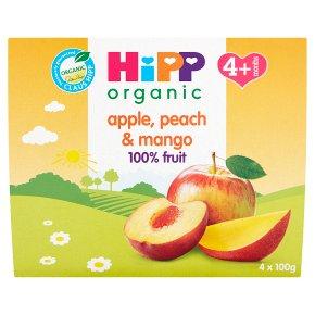 Hipp Fruits Apple,Peach & Mango