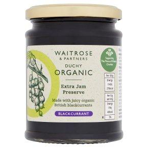 Waitrose Duchy blackcurrant preserve extra jam