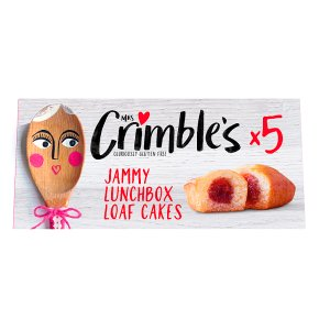 Mrs Crimble's Jammy Lunchbox Loaf Cakes