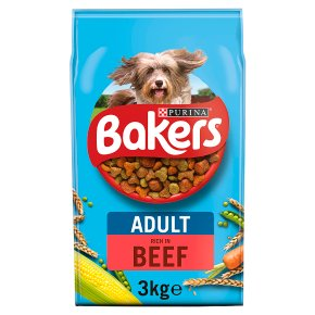 Bakers Beef & Vegetable Dry Dog Food