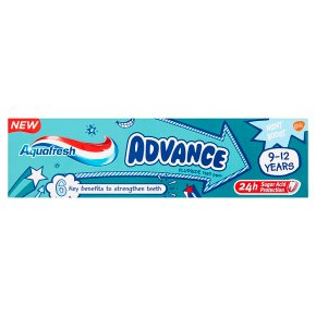Aquafresh Advance 9-12yrs Toothpaste
