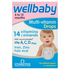 Wellbaby Multi-Vitamin Drops