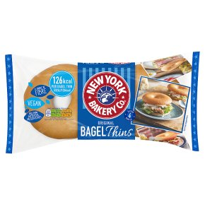 New York Bakery Co. Original Bagel Thins