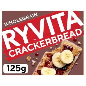 Wholegrain crackerbread