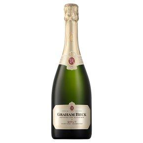 Graham Beck, Chardonnay/Pinot Brut NV, South African, Sparkling Wine