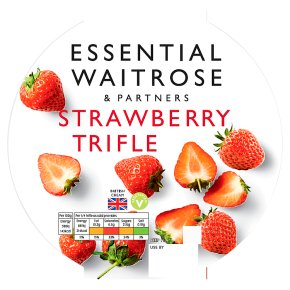 essential Waitrose Strawberry Trifle