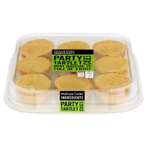 Waitrose Cooks Ingredients 18 Tartlet Cases