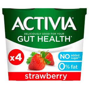 Activia 0% Fat Strawberry