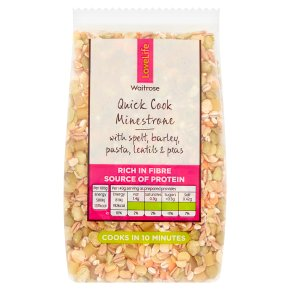 Waitrose LOVE life quick cook minestrone
