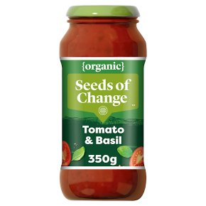 Seeds of Change organic classic tomato & basil pasta sauce
