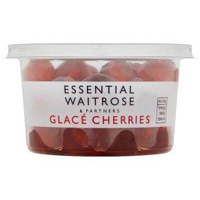 essential Waitrose Glacé Cherries