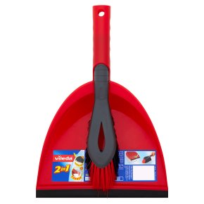 Vileda 2in1 Dustpan & Brush
