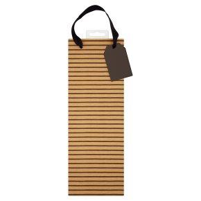Waitrose Kraft Bottle Bag