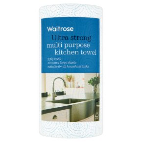 Waitrose Ultra Strong Kitchen Towel