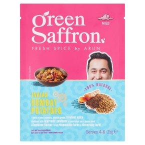 Green Saffron Bombay Potatoes Spice