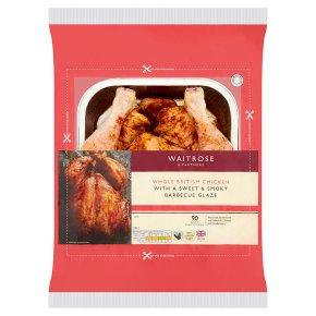 Waitrose Whole British Chicken with Barbecue Glaze