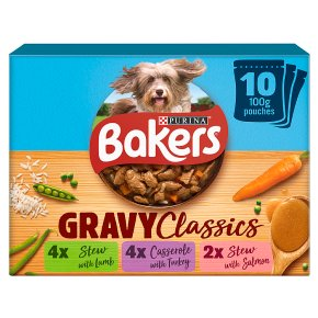 Bakers Home Classics Dog Food Mixed Flavours