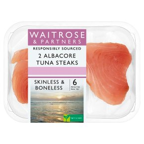 Waitrose 2 Albacore Tuna Steaks