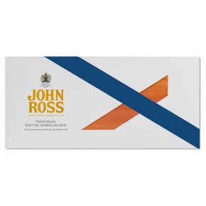 John Ross Jr. sliced Scottish smoked salmon