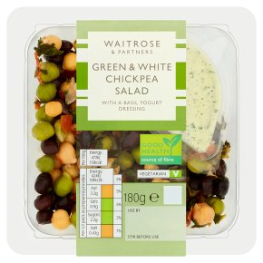 Waitrose Green & White Chickpea Salad